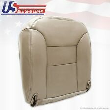 1996 1997 1998 Chevy Silverado K1500 K2500 Driver Bottom Leather Seat Cover Tan