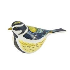 New Royal Crown Derby 1st Quality Garden Great Tit Paperweight with Gift Box