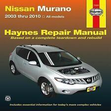 2003-2010 Haynes Nissan Murano Repair Manual