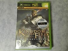KINGDOM UNDER FIRE THE CRUSADERS MICROSOFT XBOX ORIGINALE, 360 ITALIANO COMPLETO