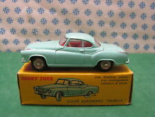DINKY  TOYS  549   -    BORGWARD ISABELLA  Coupè avec direction