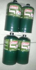NEW Coleman Propane Cylinders Tanks, 16.4 oz, Set of 4, Camping, Survival