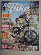 BIG BIKE magazine n° 53 F Test MONDRAKER DUNE R. BRIAN LOPES. MIKE MONTGOMERY