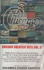 Chicago Greatest Hits Vol 2 Cassette New Sealed