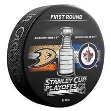 2015 Stanley Cup Playoffs Dueling Puck Anaheim Ducks / Winnipeg Jets