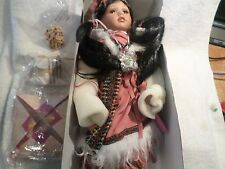 Paradise Galleries Native American Doll Rosy Dawn   NEW