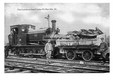 pt0088 - 1st Coal drawn from Frickley Pit , Barnsley Bed - Yorkshire - photo 6x4