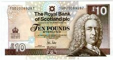 Scotland  10 pounds Commemorative Banknote UNC Diamond Jubilee 2012