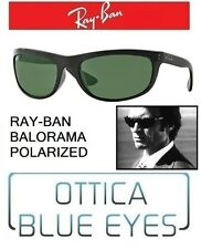 Occhiali da Sole RAYBAN BALORAMA RB4089 Polarized Sunglasses clint eastwood nero