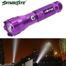 Jarl 4000 LM Wolf Flashlight Lamp Torch 3 Modes CREE XML T6 LED 18650 Battery PP