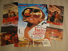 FEAR AND LOATHING IN LAS VEGAS - Poster + Aushangfotos Johnny Depp Terry Gilliam