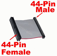 New 44 PIN IDE 2.5 Hard Drive Cable Adapter Male to Female 5cm Amiga Laptop #399
