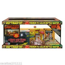 NEW: ZOO MED REPTIHABITAT EXTRA LARGE 40 GALLON BEARDED DRAGON KIT