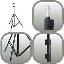 CAMLINK 2 METRE 3 SECTION PROFESSIONAL FOLDING LIGHT STAND FOR PHOTO LAMPS FLASH