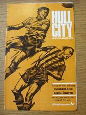 20/03/1967 à hull city: sunderland v leeds united [fa cup 2nd replay] (lumière fo