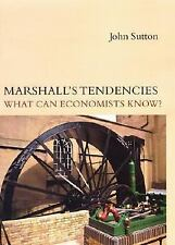 Marshall's Tendencies: What Can Economists Know? (Gaston Eyskens Lectu-ExLibrary
