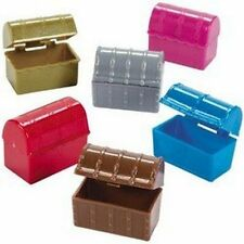 Pack of 9 - Mini Pirate Treasure Chests - Great Party Loot Bag Fillers
