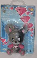 "Toy2R Yatoy Joet Nasty Baby Qee Bear ""The Baby Devil"" 3.5"""