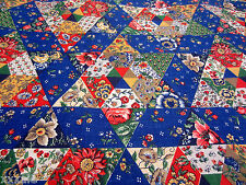 Vintage Concord Fabrics Fabric 1970's Quilt Patchwork 4 - 1/8 yards