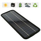 2015 Portable Solar Panel Power Battery Charger 12V 5W RV Car boat Phone