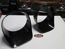 78 79 80 81 CAMARO Z-28 NEW PAIR OF BLACK HEADLAMP HEAD LIGHT BEZELS