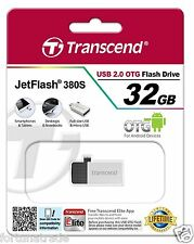 32gb USB STICK Transcend OTG Micro USB Jet Flash TS32GJF380S mini Android 4 32GB