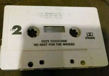 No Rest for the Wicked by Ozzy Osbourne (Cassette, Aug-1995, Epic (USA))