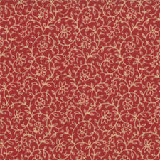 BY 1/2 YD~MODA~13607-17~FRENCH GENERAL FAVORITES~TURKEY RED TONAL FLORAL