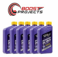 Royal Purple 10W30 Motor Oil Multi-Grade Synthetic - 6-Quarts  01130