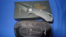 Microtech/Marfione Knife Custom Star Lord Flipper G10  Stonewash ELMAX Blade