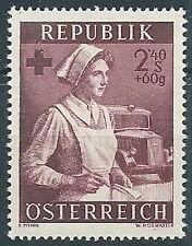 1954 AUSTRIA A PROFITTO DELLA SANITA 2,40+60 G MNH ** - A041