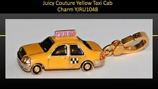 100 % Authentic JUICY COUTURE Gold Plate N.Y.C. Yellow Taxi Cab Charm YJRU1048