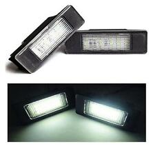 Peugeot 406 2 Door Coupe Replacement 18 SMD LED Number Plate Lamps Units 6000k