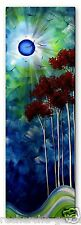 Megan Duncanson 'Tropical Night' Tree Moon Contemporary Metal Wall Sculpture Art