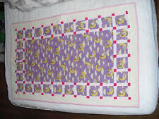 Sweet Dreams-Baby girl quilt :Home-made