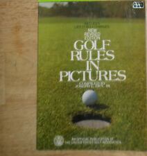 BOOK -GOLF RULES IN PICTURES BY JOSEPH C. DEY, JR. PUBL. -1977-U.S. GOLF ASSOC.