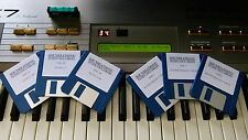 Yamaha DX7II Floppy Disk Library. 1000s of sounds & performances + Custom Set