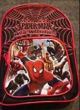 """MARVEL ULTIMATE SPIDERMAN Coloring Activity Backpack 10"""" Watercolor FunPack NEW"""