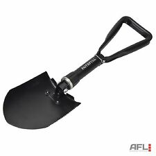 Faithfull All-Steel Folding Round Head Shovel 570mm - Winter Car Emergency Spade