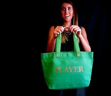 "Kate Spade New York ""PLAYER MACAU"" Tote Bag BANKER MONOPOLY CASINO BAG BEACH"
