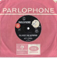 "BILLY J. KRAMER - I'LL KEEP YOU SATISFIED - RARE 7"" 45 SAMPLE VINYL RECORD 1963"