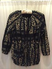 Nwt Burning Torch Floral Tops Anthropologie Jacket Women Size P/S