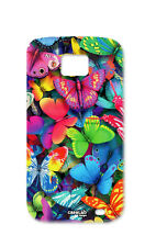 COVER CASE PROTETTIVA FARFALLE COLORATE PER SAMSUNG GALAXY S2 PLUS i9105