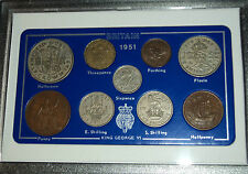 1951 Vintage Rare Penny Coin Set 65th Birthday Present Wedding Anniversary Gift