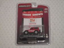 GreenLight Trade Shows Toy Fair 2015 Jeep Wrangler Rubicon Red #1929