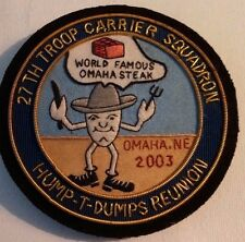 USAAF~WWll~ 27th TROOP CARRIER SQUADRON~HUMP-T-DUMPS REUNION~2003 Omaha Ne