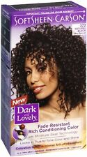 Dark and Lovely Permanent Hair Color 372 Natural Black 1 Each (Pack of 9)