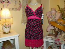 NEW~DELTA BURKE Romantic Femme BELLE ROUGE RAVISHING Lace Chemise NIGHTGOWN 1X
