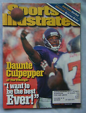 2000 SPORTS ILLUSTRATED DAUNTE CULPEPPER VIKINGS