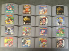 Various Nintendo 64 Games Multi Listing  Good Mix of The Very Best N64 Games